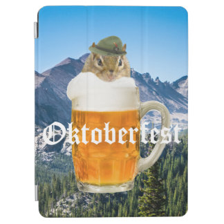 Cute Chipmunk Oktoberfest Mountains iPad Air Cover