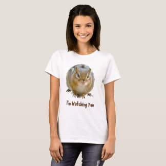 Cute Chipmunk Staring At You T-Shirt