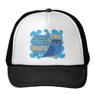 Cute Christian Owl Mesh Hats