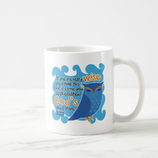 Cute Christian Owl Coffee Mug