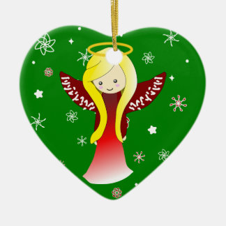 Cute Christmas Angel Ornament