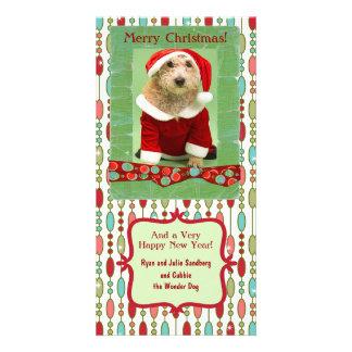 Cute Christmas Beaded Whimsy Custom Card