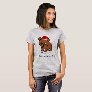 Cute Christmas 'Beary-y Christmas' T-Shirt