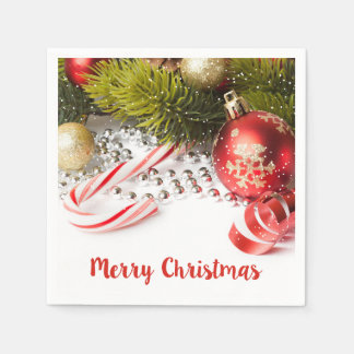 Cute Christmas Decoration Paper Napkin