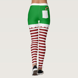 Cute Christmas Elf Leggings