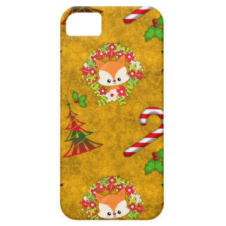 Cute Christmas Fox Case For The iPhone 5