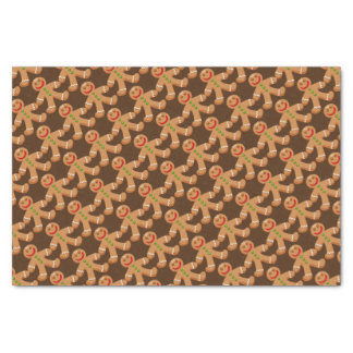Cute Christmas Gingerbread Tissue Paper