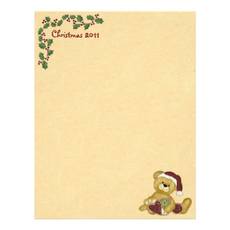 Cute Christmas Letterhead