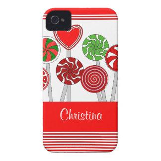 Cute Christmas Lollipops BlackBerry Bold Case