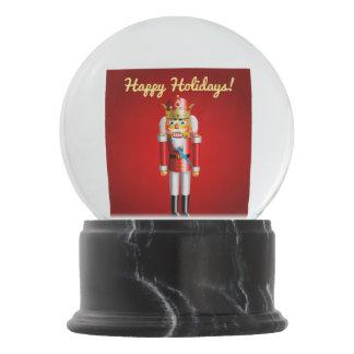 Cute Christmas Nutcracker Toys Snow Globe