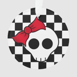 Cute Christmas skull