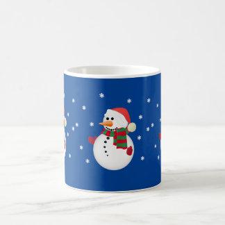 Cute Christmas Snowman Mugs Cups