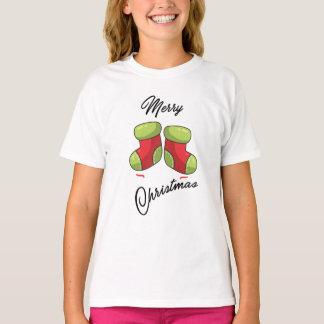 Cute Christmas socks. T-Shirt