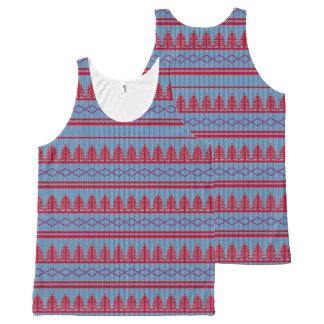 Cute Christmas Sweater | Leggings All-Over-Print Tank Top