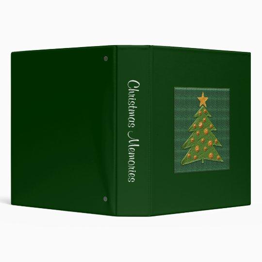Cute Christmas Tree - Memories Binder