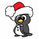 Cute Christmas Tuxedo Penguin Acrylic Cut Outs