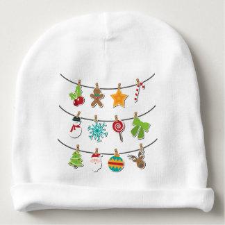 Cute Christmas Xmas Hanging Decoration Baby Beanie