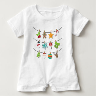 Cute Christmas Xmas Hanging Decoration Baby Romper
