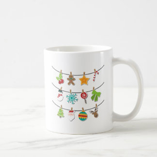 Cute Christmas Xmas Hanging Decoration Coffee Mug