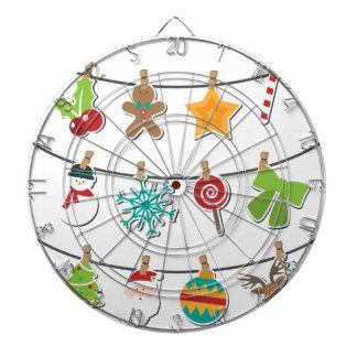 Cute Christmas Xmas Hanging Decoration Dartboard