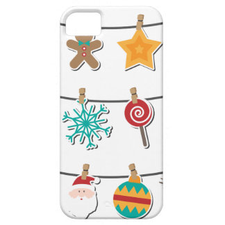 Cute Christmas Xmas Hanging Decoration iPhone 5 Cover