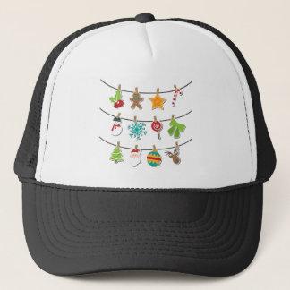 Cute Christmas Xmas Hanging Decoration Trucker Hat