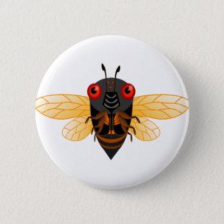 Cute Cicada 2 Inch Round Button