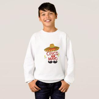 Cute Cinco de Mayo Mexican Holiday Celebration Sweatshirt