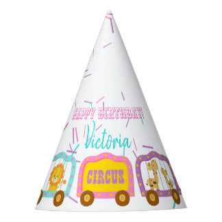 Cute Circus Party Hat