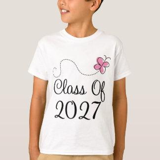 Cute Class of 2027 butterfly T-Shirt