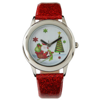 Cute Classic Santa Whimsey HOLIDAY ALL WATCHES