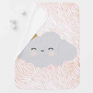 Cute Cloud design - Baby Blanket
