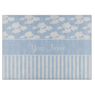 Cute Clouds and Stripes Boards