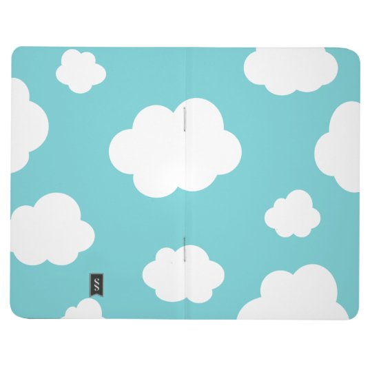 Cute Clouds into the Blue Sky Journal