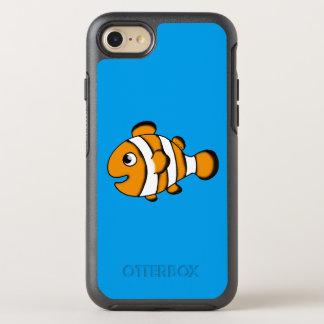 cute clown fish cartoon OtterBox symmetry iPhone 8/7 case