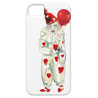 Cute clown painting case for the iPhone 5