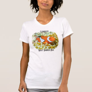Cute Clownfish on the Great Barrier Reef T-shirt