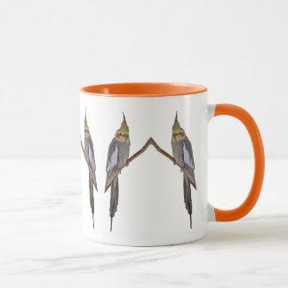 Cute Cockatiel Duo Mug