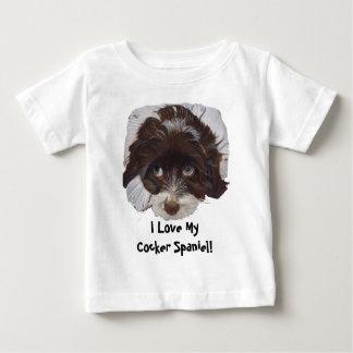 Cute Cocker Spaniel Baby T-Shirt