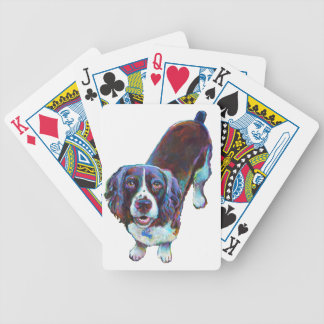 Cute Cocker Spaniel by Robert Phelps Bicycle Playing Cards
