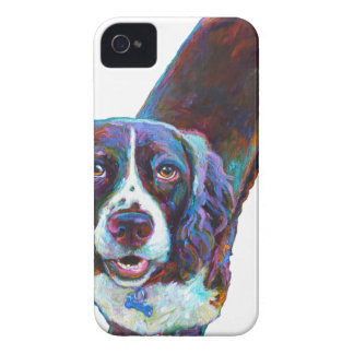 Cute Cocker Spaniel by Robert Phelps iPhone 4 Case-Mate Case