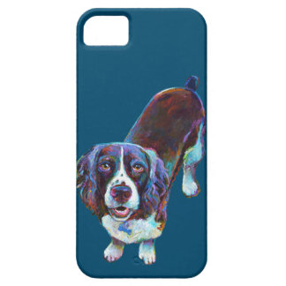 Cute Cocker Spaniel by Robert Phelps iPhone 5 Case