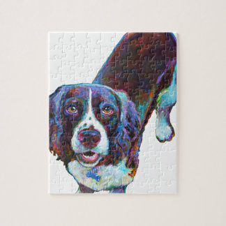 Cute Cocker Spaniel by Robert Phelps Jigsaw Puzzle