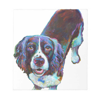 Cute Cocker Spaniel by Robert Phelps Notepad