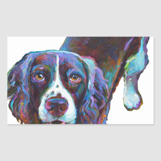 Cute Cocker Spaniel by Robert Phelps Sticker