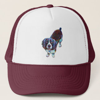 Cute Cocker Spaniel by Robert Phelps Trucker Hat