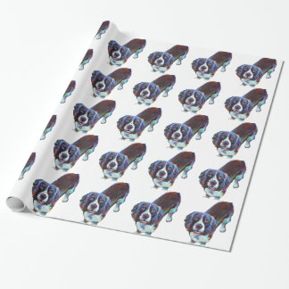 Cute Cocker Spaniel by Robert Phelps Wrapping Paper