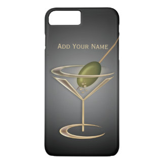 Cute Cocktails Personalized iPhone 7 Plus Case