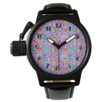 Cute Coffee and Cakes Design Watch
