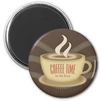 Cute Coffee Cup Magnet